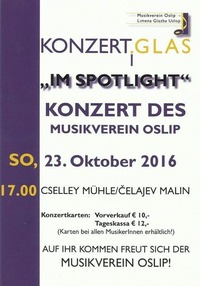 Herbstkonzert - Musikverein Oslip