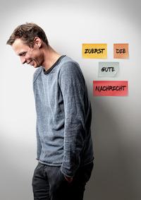Klaus Eckel - Zuerst die gute Nachricht@Stadtsaal Wien