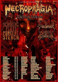 Necrophagia // Schirenc Plays Pungent Stench // Soulburner@Viper Room