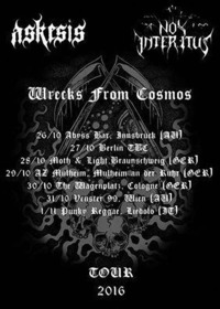 Askesis & Nox Interitus Live @< Abyss@Abyss Bar