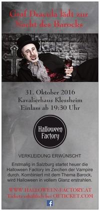 Graf Dracula lädt zur Nacht des Barocks@Kavalierhaus Klessheim
