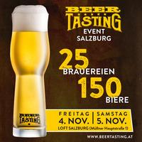 Das erste BeerTasting Event kommt nach Salzburg