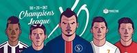 XO - Champions League@Scotch Club