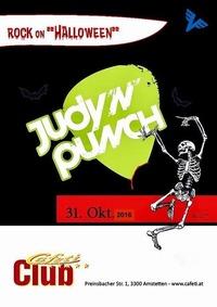 Rock on Halloween supp. Judy 'n' Punch@Cafeti Club