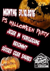 PS Halloween Party@Party Stadl