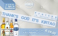 Thanks God It's Kirtag // SAS Bar@SAS - Bar & Die Lounge