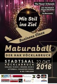 Business Class - Mit Stil ins Ziel   Maturaball der HAK-Vöcklabruck