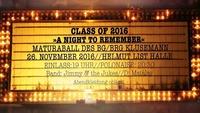 Class of 2016 - A Night To Remember - Maturaball BG / BRG Klusemann@Helmut-List-Halle