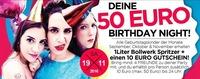 Deine 50€ Geburtstagsfeier