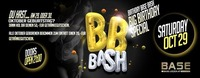 Birthday Bash (Oktober Special)@BASE