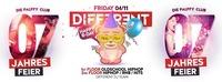 Different - Friday 04.11 - 7 Years Palffy Club@Palffy Club