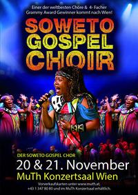 SOWETO GOSPEL CHOIR – der erfolgreichste Gospel-Chor der Welt live im Wiener MuTH Theater@MuTh Theater