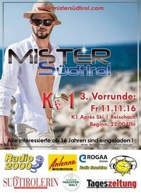 Mister Südtirol 2017 - 3. Vorrunde@K 1- Apresski