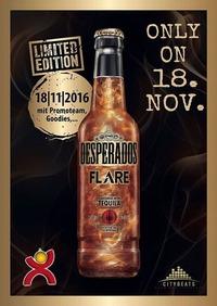 Desperados Flare Präsentation@Jedermann