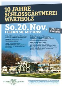10-Jahr-Jubiläum auf Schloss Wartholz
