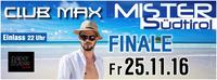 Mister Südtirol Finale@Club Max
