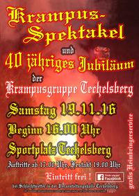 Krampusspektakel Techelsberg 2016@Sportplatz Techelsberg