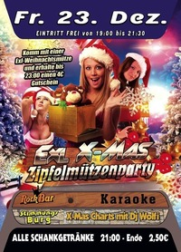 EXL X-Mas Zipfelmützenparty@Excalibur