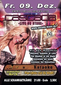 Cascada live on stage