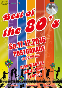 Best of the 80s@Postgarage