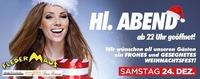 Hl. ABEND ab 22:00 Uhr geöffnet!@Fledermaus Graz