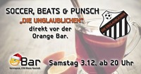 """Soccer, Beats & Punsch mit """"Die Unglaublichen""""@Orange Bar"""