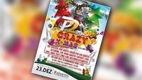 Die legendäre Crazy X-MAS Party am 23. Dezember@Disco P2