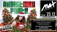 Themenfreitag ▲▲ christMAX Party ▲▲@MAX Disco