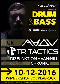 Raw Contact pres. Drum&Bass with AKOV (UK)@Asiahouse