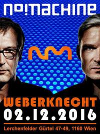 Konzert: No Machine (Electronic Industrial Rock) + SoundDiary (Progressive Rock)@Weberknecht