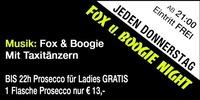 Jeden Donnerstag – FOX und Boogie Night