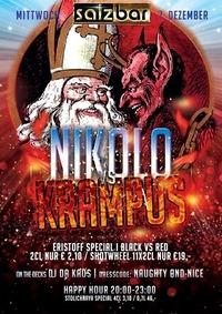 Nikolo vs. Krampus/daKaos@Salzbar