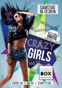 Crazy Girls Party@The Cube Disco