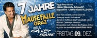 7 Jahre Mausefalle Graz mit Oliver FRANK@Mausefalle Graz