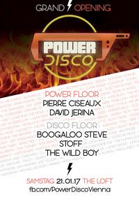 POWER DISCO ϟ Grand Opening!@The Loft