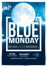 BLUE Monday by BORG Oberndorf +16@Johnnys - The Castle of Emotions