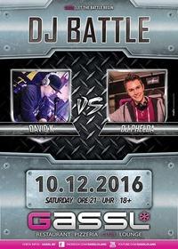 DJ Battle-David K & DJ Phelda@Gassl