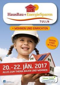 HausBau + EnergieSparen Tulln 2017@Messe Tulln