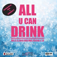 ALL U CAN DRINK-Christmas Special @Inside Bar