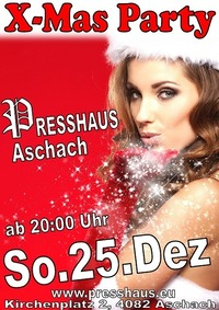 X-Mas Party im Presshaus Aschach