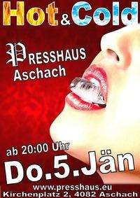 Hot & Cold im Presshaus Aschach