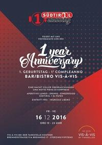 Südtirol 1 Clubbing 1 Year Anniversary@Vis À Vis by Pardeller