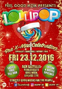 Lollipop pre-Xmas celebration