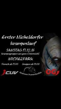 Erster Micheldorfer Krampuslauf@Hellweg parkplatz Micheldorf