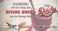Punschen mit den > Diving Ducks <@Orange Bar