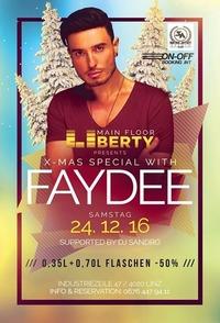 X-MAS Special with *Faydee* / Club Liberty@derHafen