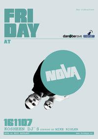 Friday with Kosheen DJs@Nova