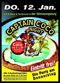 Captain Coco Night Opening Party@Excalibur