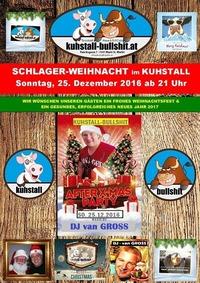 Schlager-Weihnacht im Kuhstall, Sonntag 25.12.2016@Kuhstall
