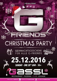 G-Friends Christmas Party@Gassl